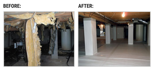 Crawl Space Repair in Kalamazoo MI