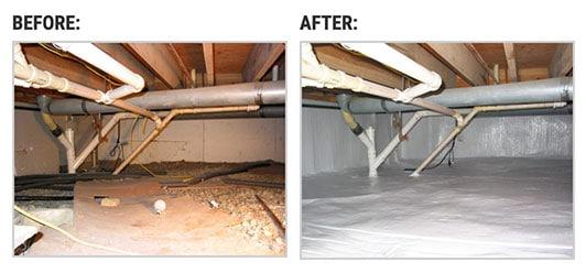 Crawl Space Repair in Lenox Township MI