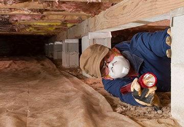 Crawl Space Repair in New Baltimore MI