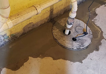 Basement Waterproofing in Pontiac MI